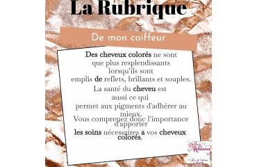 LA RUBRIQUE DE MON COIFFEUR