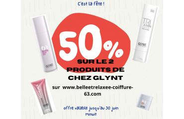 -50% CHEZ GLYNT